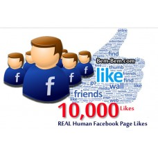 10,000 FaceBook Rea Likes
