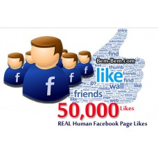 50,000 FaceBook Rea Likes