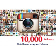 10,000 Instagram Real Followers