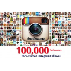 100,000 Instagram Real Followers