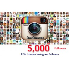 5000 Instagram Real Followers