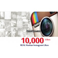 10,000 Instagram Real Likes