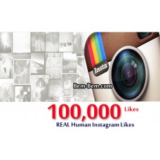 100,000 Instagram Real Likes