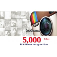 5000 Instagram Real Likes