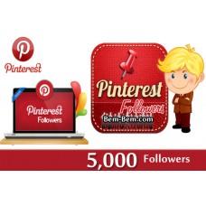 5000 Pinterest Real Followers