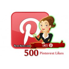 500 Pinterest Real Likes