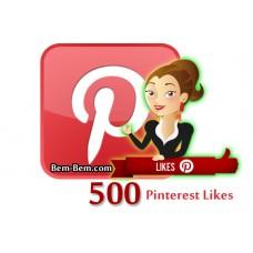 500 Pinterest Real Likes