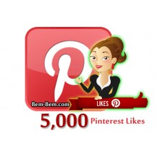 5000 Pinterest Real Likes