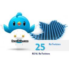 25 Twitter Retweet