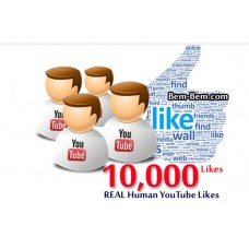 10,000 Youtube Real Likes