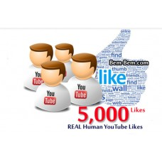 5000 Youtube Real Likes