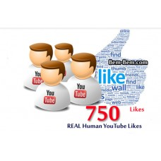 750 Youtube Real Likes