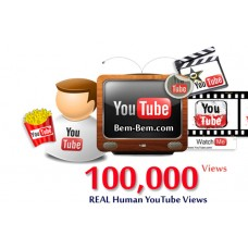 100,000 Youtube Real Views