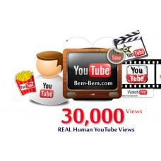 30,000 Youtube Real Views
