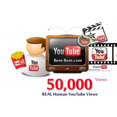 50,000 Youtube Real Views