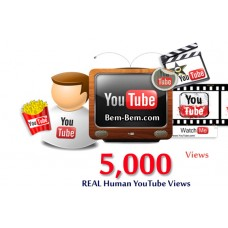 5000 Youtube Real Views